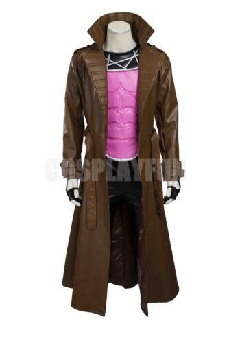X-Men Remy Etienne Gambit Cosplay Costume Custom Made