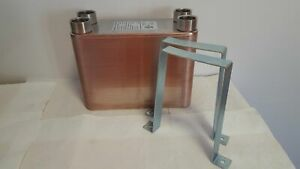 80-Plate-Water-to-Water-Brazed-Plate-Heat-Exchanger-1-1-4-034-FPT-Ports-w-Brackets