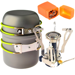 Piezo Ignition Canister Outdoor Camping Backpacking Picnic Cooking Tool