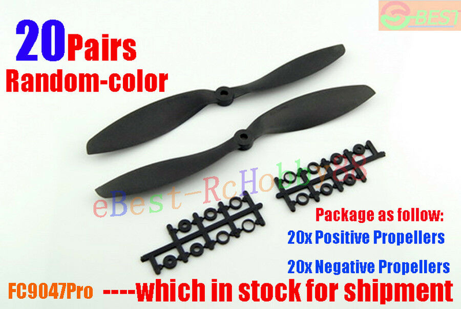 20pairs Random color 9x4.7  9047pro 9047pro 9047pro CW CCW Propeller For Drone Copter UFO Copter 176f95