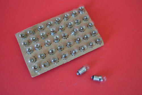 10 Stück Taschenlampenbirnen 2,5V 0,15A E10//13 Glühlampen