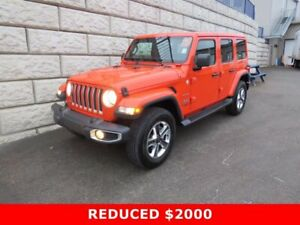 2020 Jeep Wrangler Sahara $150 per week taxes incl $0 Down