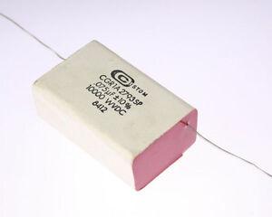 1x 075uf 10000v Metallized Paper Film Capacitor 10kv