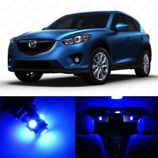 7 x Ultra Blue LED Interior Lights Package For 2013 - 2014 Mazda CX-5 CX5