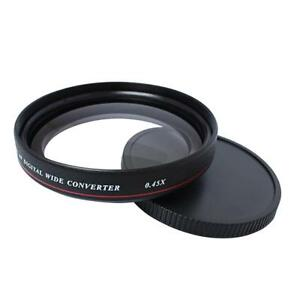 Filtre-a-objectif-grand-angle-ZOMEI-Ultra-Slim-49mm-0-45x-pour-camera-SLR