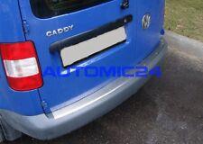 Ladekantenschutz VW Caddy Edelstahl Kofferraum Leiste Hinten Stossstange Schutz