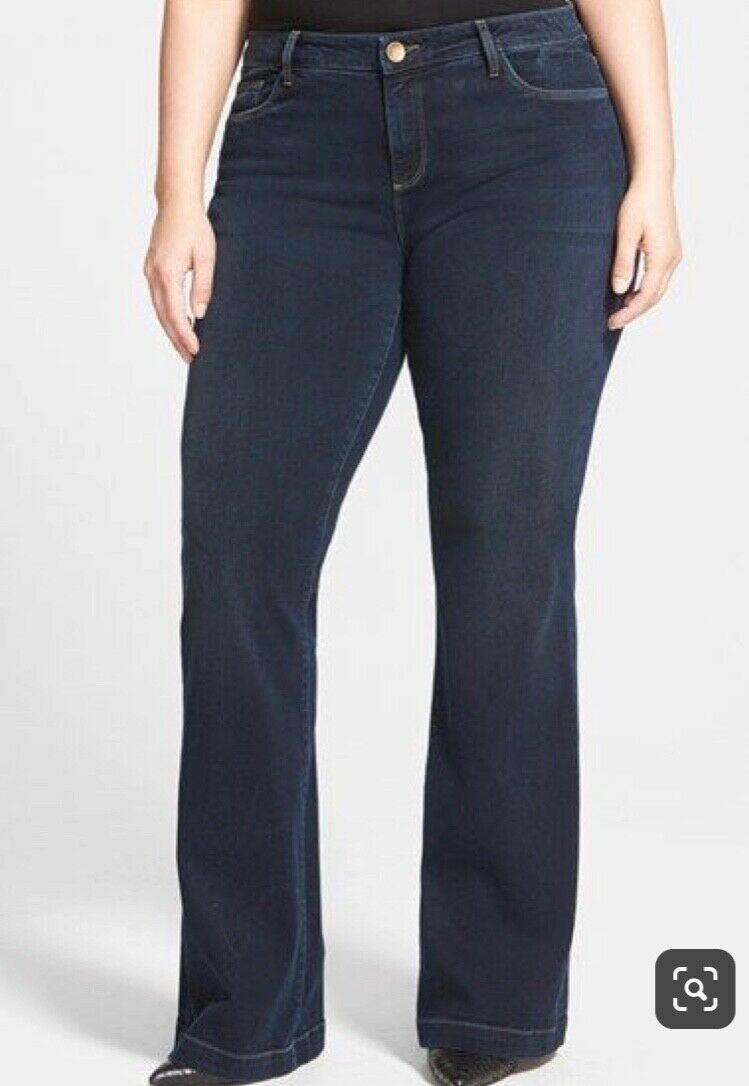 Plus Size Flare Jeans by Kut from the Cloth Women's Size 20