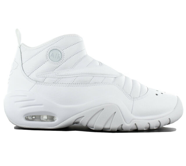 4fcbb37ab041 Nike Air Max Shake Ndestrukt Men s Shoes Basketball Leather White 880869-101