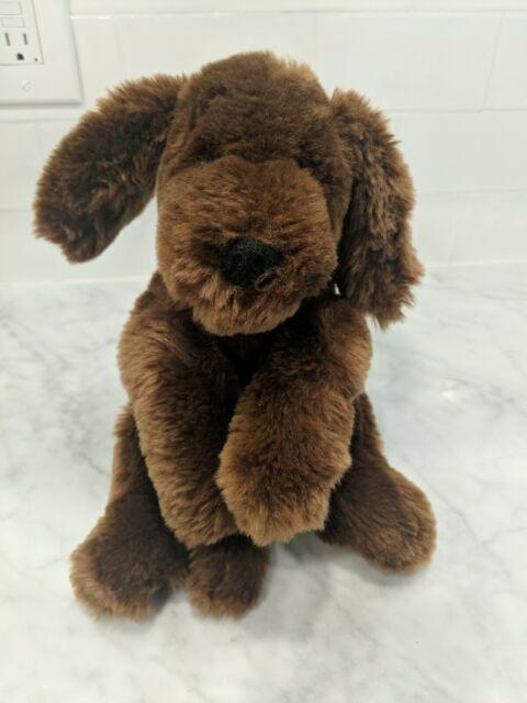 """14/"""" NWT ~ GUND Muttsy Dog Stuffed Animal Plush Beige"""