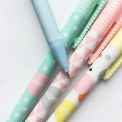 Kawaii 2pcs Automatic Pencils Style Serie Stationery 0.5//0.7mm Press Pens Sinple
