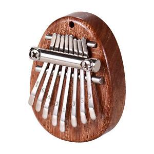 Mini-8Key-Kalimba-Sapele-Thumb-Piano-Mbira-Solid-Wood-Finger-Keyboard-Instrument