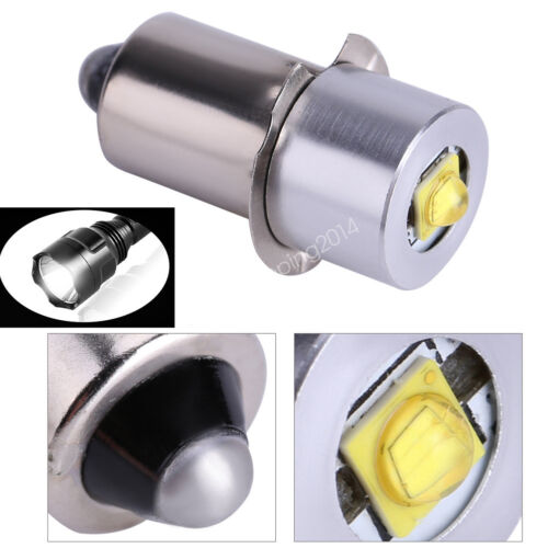 1//10x 5W 6-24V P13.5S Brightness LED Work Light Lamp Bulb Flashlight Torch Part