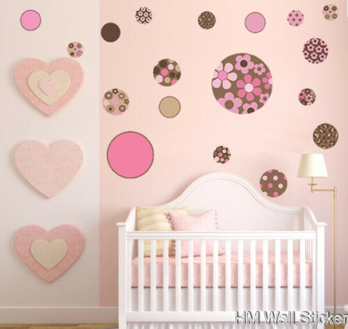 kids Wall decals Removable Wall Sticker POLKA DOTS Nursery