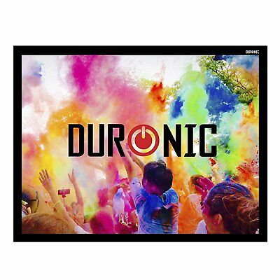 Duronic APS50 /43 Ecran / toile de projection – 50'' ou 127 cm (100 x 76 cm)