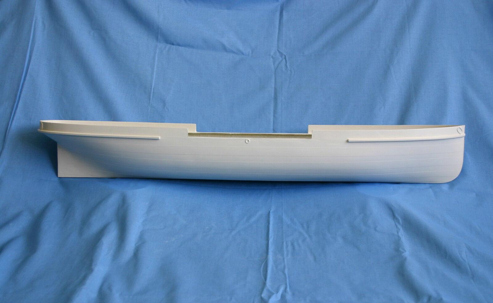 HMS Volcano GRP paddle tug hull & plan set (Lakes paddle cruiser)