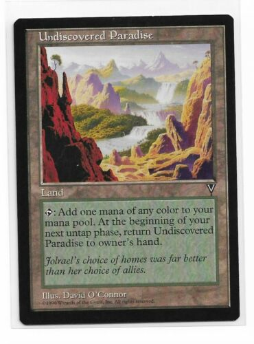 Magic The Gathering ~ 1x Undiscovered Paradise ~ Visions ~ M//NM