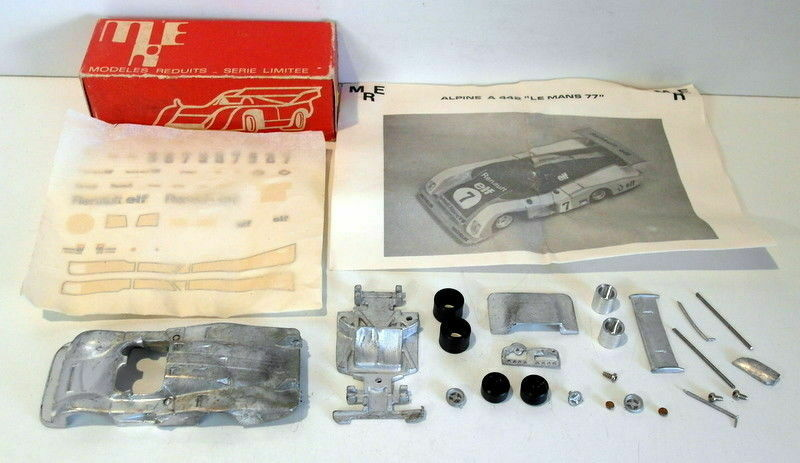 MRE Model Kits 1 43 Scale White metal MRE002 Alpine A442 Official Le Mans