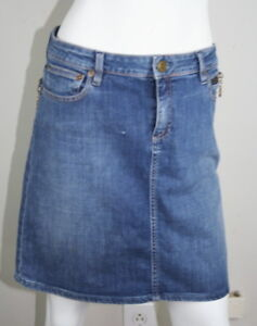 9506a9aa2 Marc By Marc Jacobs Blue Medium Wash Denim Zipper Pocket Jean Skirt ...