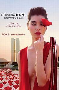 Kenzo L'elixir Flower Ad French Fleur Détails Pub Parfum Publicite Coquelicot Sur De 2015 kZiXuTOP