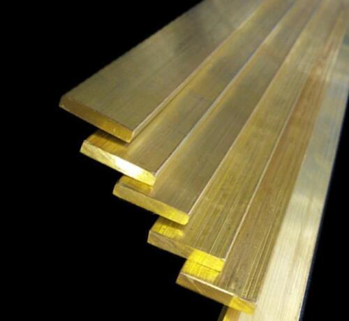 1pcs H59 Brass Metal Bar Stip Thickness 5mm x 30mm x 250mm