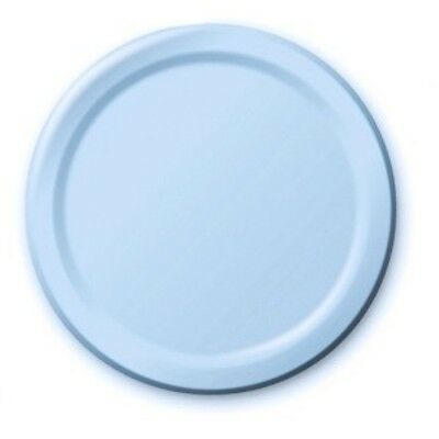 "BABY BLUE 9""  Paper PLATES Birthday Christening Baptism Boys Party Tableware"