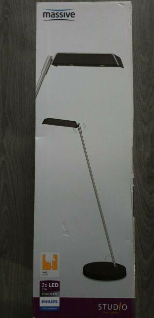 Neu LED Tischleuchte Schreibtischleuchte Büroleuchte Craig 66716-11-10