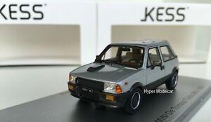 KESS MODEL 1/43 Innocenti Mini Turbo De Tomaso MKII 1983 Silver Art. KE43012021