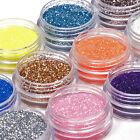 18 Colors Nail Art Glitter Powder Dust For UV Gel Acrylic Decoration Set Tips