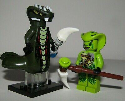 Acidicus Serpentine General & Lasha Scout - Venomari Tribe - Lego Ninjago Movie