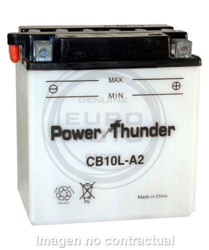 Batería CB10L-A2 12V 11Ah | Power Thunder| Mantenimiento | Moto | ¡Envío 24h!