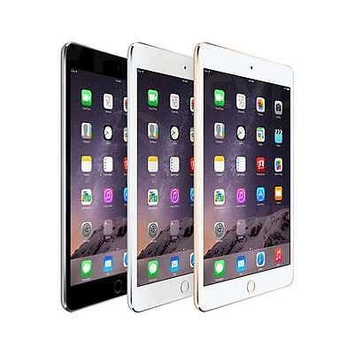Apple iPad Mini 3 Wifi + Cellular 4G GSM Unlocked Third Gen