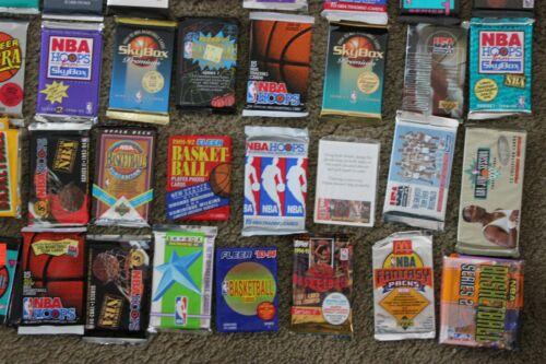 ESTATE SALE - Lot of Old Vintage BASKETBALL Cards In Unopened Packs