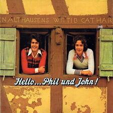 """12"""" Phil & John Hello Phil & John (Hello Mary-Lou, Marina) 70`s Ariola Hansa"""