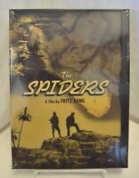 The Spiders (dvd, 1999) Fritz Lang - Brand Factory Sealed