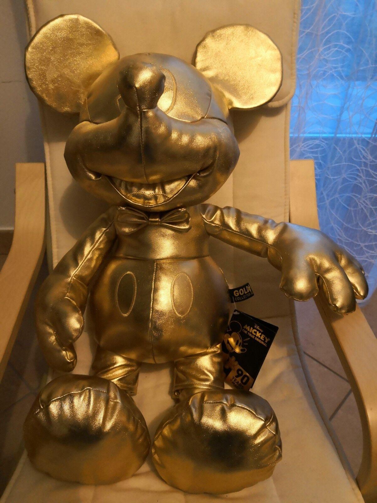 PELUCHE MICKEY MOUSE 90 gold BIG DA DA DA COLLEZIONE 7d7