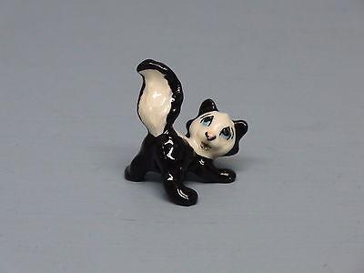 Hagen Renaker miniature made in USA Skunk Baby retired