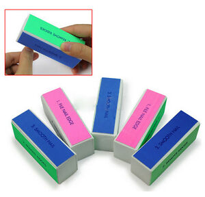 2-x-Fashion-Nail-Art-Manicure-4-Way-Shiner-Buffer-Buffing-Block-Sanding-File