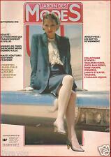 ▬►JARDIN DES MODES 45 (1981)Mode Fashion Vintage THIERRY MUGLER_YSL_J.P GAULTIER