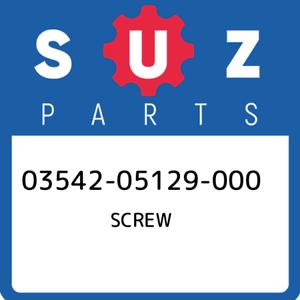03542-05129-000-Suzuki-Screw-0354205129000-New-Genuine-OEM-Part