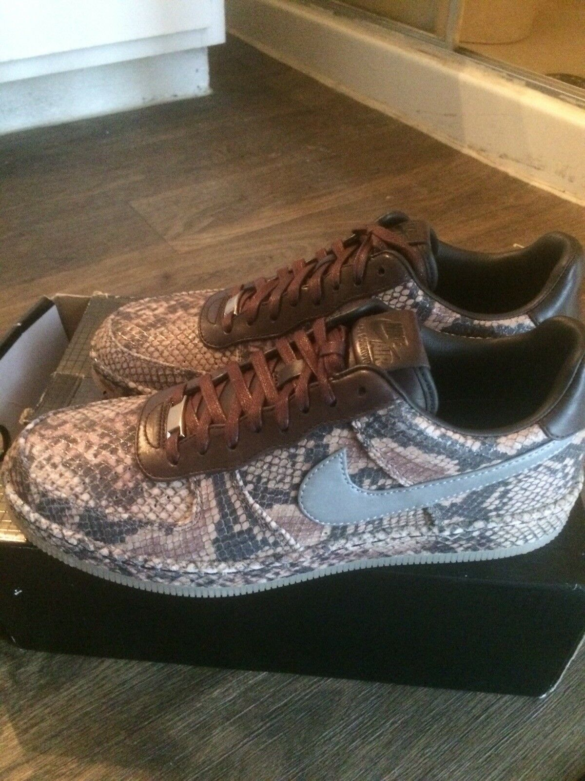 Nike Air Force 1 Downtown Python Size 10.5