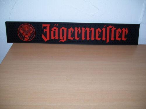 Jägermeister   Barmatte Matte für die Bar Werbung und ein Glas 2cl