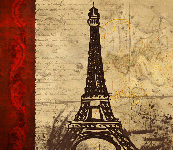 3D Mottled Paris 1 WallPaper Murals Wall Print Decal Wall Deco AJ WALLPAPER