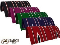 Navajo Western Horse And Pony Saddle Blanket 30 X 30 By Tahoe Tack