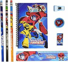 Transformers Animated Stationary Set for Kids Back to School