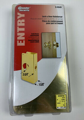 Defender Security Lock & Door Reinforcer Entry U-9549 ...