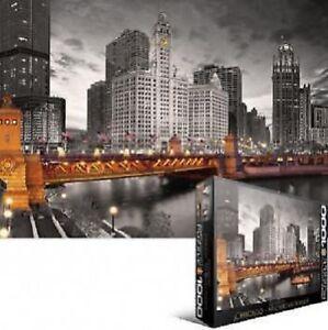 EG60000658 Eurographics Puzzle 1000 Piece - Chicago River