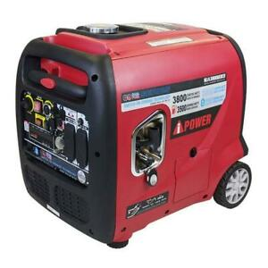 A-IPOWER 3800 Watts Dual Fuel Gasoline/Propane Inverter Generator Electric Start