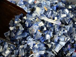 Expedite Blue Sapphire Natural 20 Carat Ceylon Gemstone Rough Lot