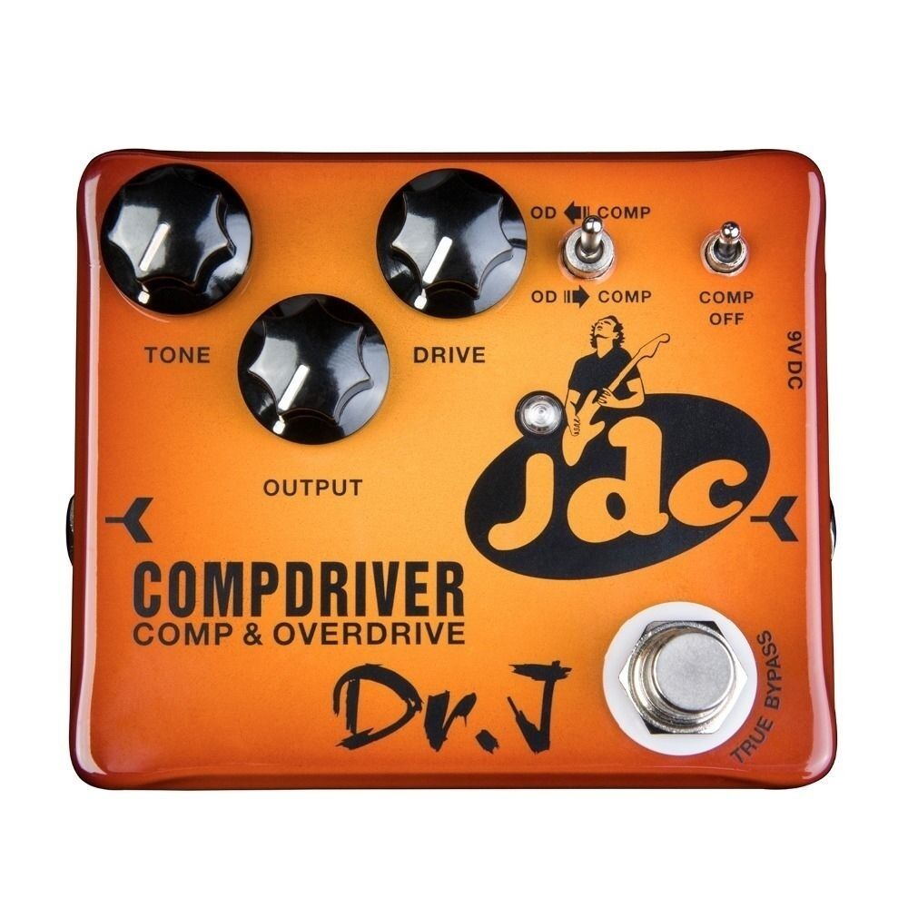 NEW DR. J CompDriver DJDC Compresor + Overdrive 2-in-1 Combo Pedal  Free Ship
