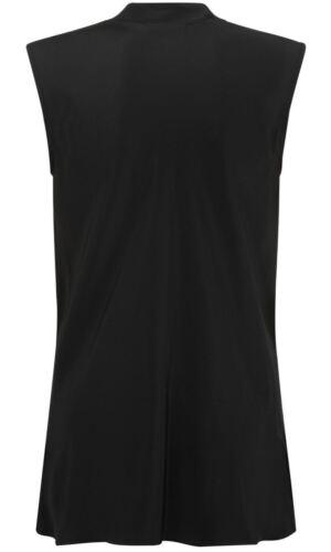 £150 Farhi Sleeveless Nicole Panel New Was Top Silk Black 8HrWnHd